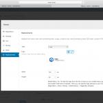 Admin screenshot showing the menu item replacement options