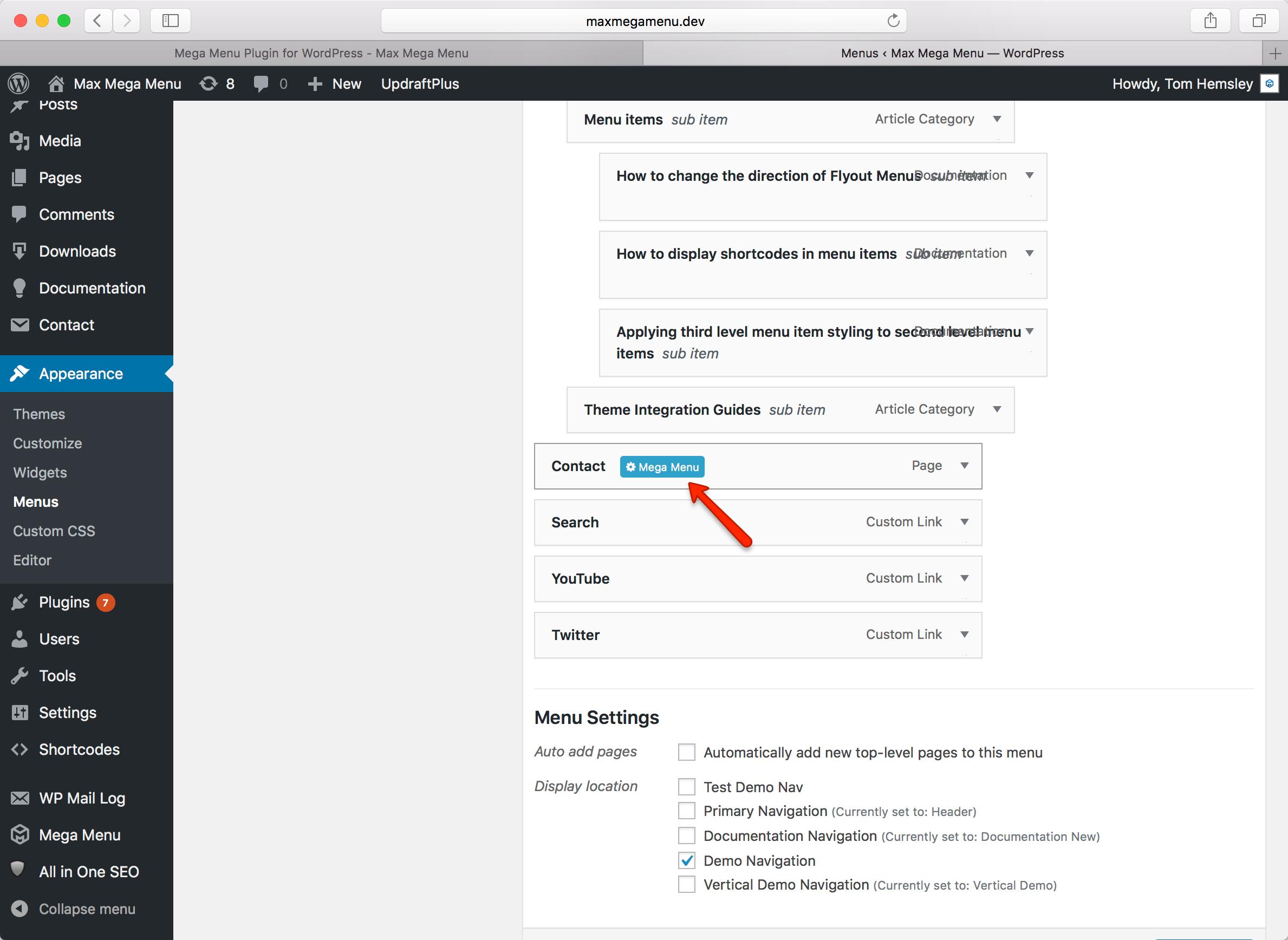 wordpress upload file to theme root